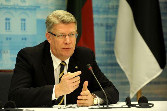 Trijų Baltijos šalių prezidentų spaudos konferencija