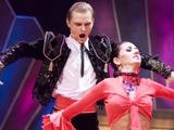 Viganto Ovadnevo nuotrauka/Liudas Mikalauskas ir Gintarė Slausgalvienė šokių aikštelėje