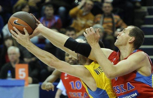 AFP/Scanpix nuotr./R.`iakauskas sėkmingai žaidė tada, kai to labiausiai reikėjo
