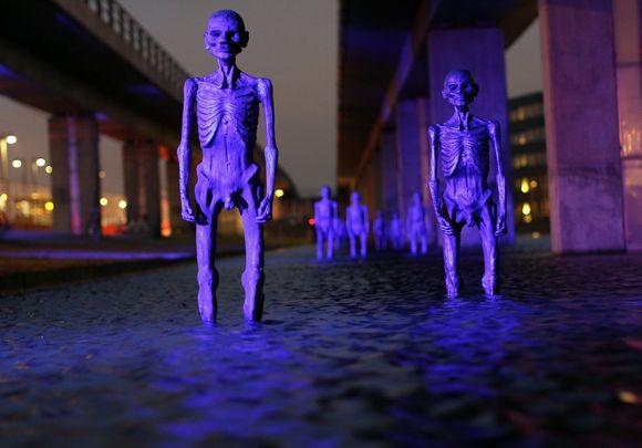 Kopenhagos statulėlės, įspėjančios apie klimato atšilimą