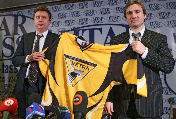 Scanpix nuotr./Vėtra veržiasi į KHL ledo ritulio lygą