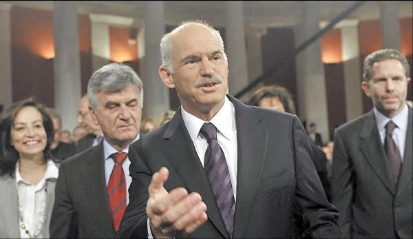 Graikijos premjeras G.Papandreu supranta jo šaliai iškilusį pavojų, tačiau konkrečių veiksmų vis tiek nesiima.