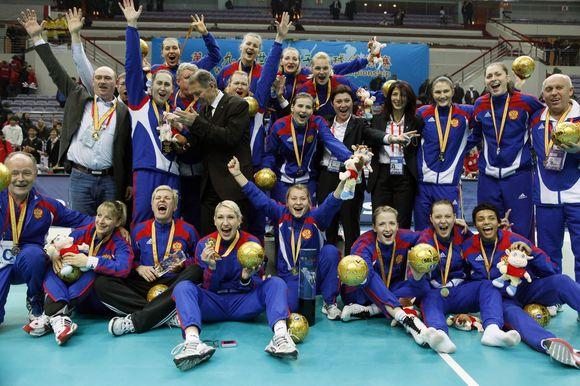 Rusijos rankininkės laimėjo planetos auksą