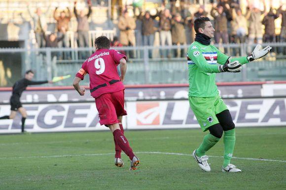 """T.Danilevičius antrą kartą iš eilės tapo """"Sampdoria"""" ekipos žudiku"""