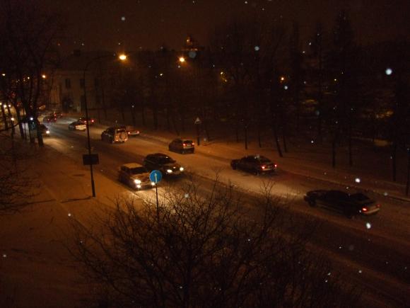 Klaipėdos regione dėl pūgos vairuotojams susidarė sudėtingos eismo sąlygos.