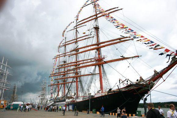 15min.lt nuotr./Regatą The Tall Ships Races pamatė per 1,2 mln. žmonių.