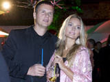 Viganto Ovadnevo nuotr./Jurgita Jurkutė su Ryčiu Širvaičiu