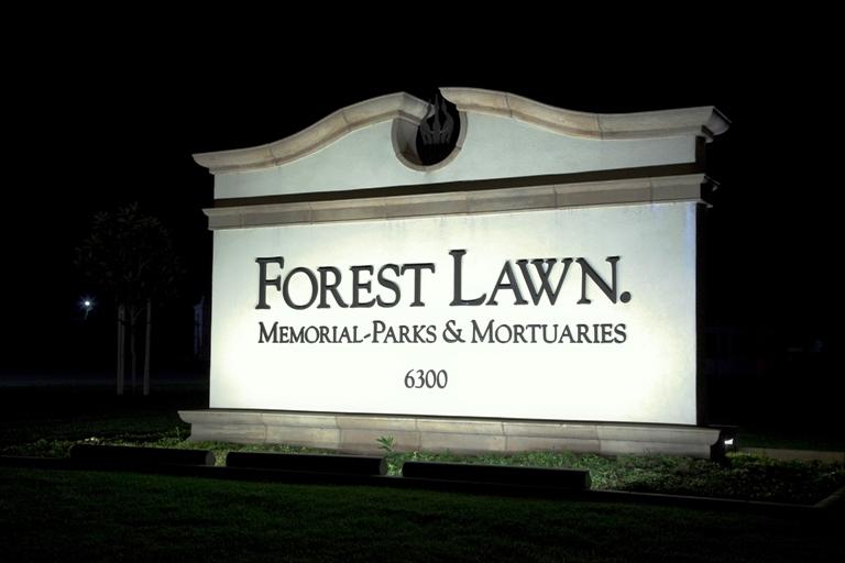 Vieta, kurioje vyko privati Brittany Murphy laidotuvių ceremonija