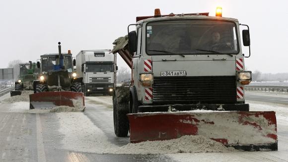 Sniego valymo mašina Rusijoje