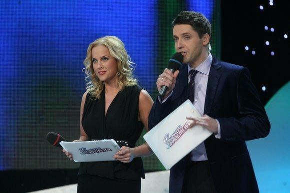 Rolandas Vilkončius ir Inga Jankauskaitė kartu vedė 2009-aisias vykusį muzikinį projektą Muzikos akademija