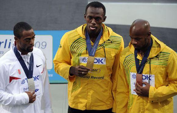 Geriausių pasaulio sprinterių trijulė