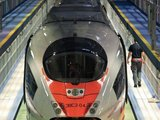 """AFP/""""Scanpix"""" nuotr./Greitasis traukinys SAPSAN"""