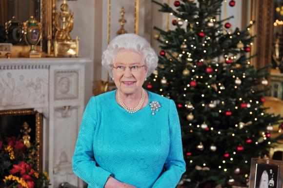 Didžiosios Britanijos karalienės Elizabeth II kalėdinis sveikinimas.
