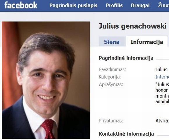 FRK pirminikas J.Genachowskis.
