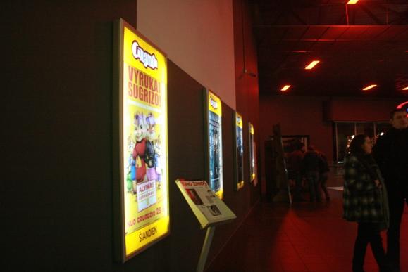 Klaipėdos kino teatrų duris dažniausiai varstė dėl animacinių komedijų.
