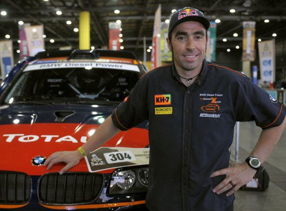 Pirmąją varžybų dieną automobilių grupėje nepralenkiamas buvo N.Roma su BMW