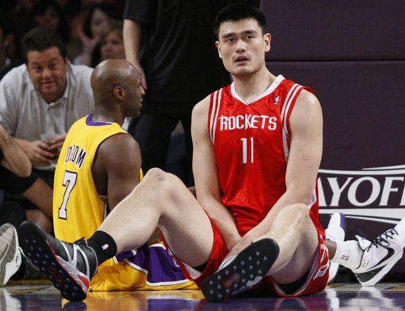 Dėl kojos traumos Y.Mingas yra priverstas praleisti visą 2009-2010 metų NBA lygos sezoną