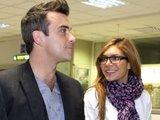 """Scanpix"" nuotr./Ayda Field ir Robbie Williamsas"