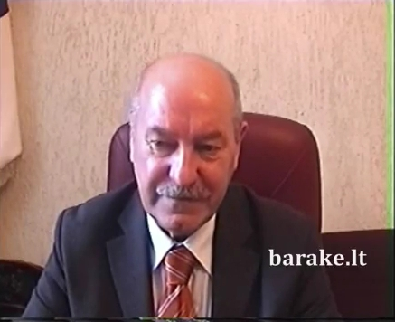 VPU rektorius akademikas Algirdas Gaižutis