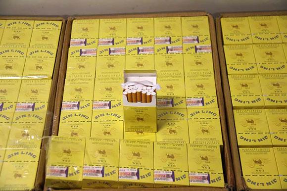 Kontrabandinės cigaretės