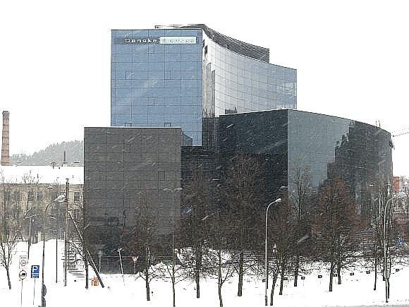 Danske banko pastatas