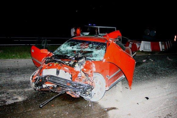 Astos Aleksėjūnaitės nuotr. ia dienraačio L.T. archyvo/Opel Calibra, kuriuo lėkė avarijos kaltininkas.