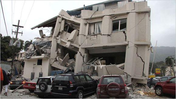 Žemės drebėjimo padariniai