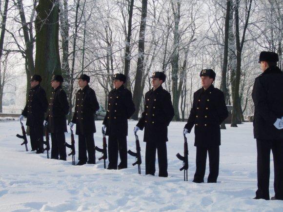 G.Kubiliūtės nuotr./Ceremonijoje aidėjo auviai.
