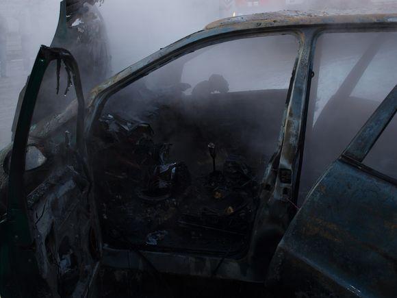 """""""Mercedes"""" automobilio gaisras"""