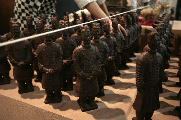 Šokoladinė Terakotos karių armija