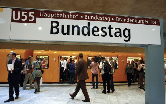 Bundestago stotelė