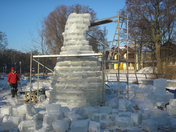 N.Stasiulio nuotr./Skulptūra bus daugiau kaip 5 metrų aukačio.