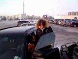 15min.lt filmuotos medžiagos stop kadras/Kelių eismo taisyklių nesureikšminantis vilnietis K.Taukačikas.
