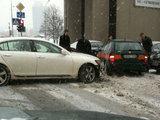 15min.lt skaitytojo Ryčio nuotr./Tai avarija Vilniuje. Tokių avarijų penktadienį netrūko visoje aalyje