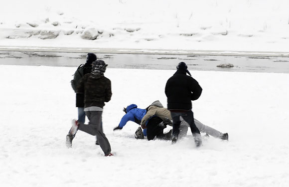 Sniego mūšis