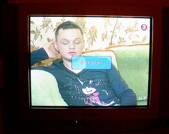 Kabelinės televizijos trikdžiai šeštadienio vakarą