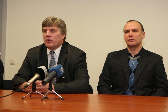 Rolandas Bučys ir Dmitrijus Medvedevas
