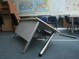 A.Kripaitės nuotr./Konflikto metu buvo sulaušytas stalas.