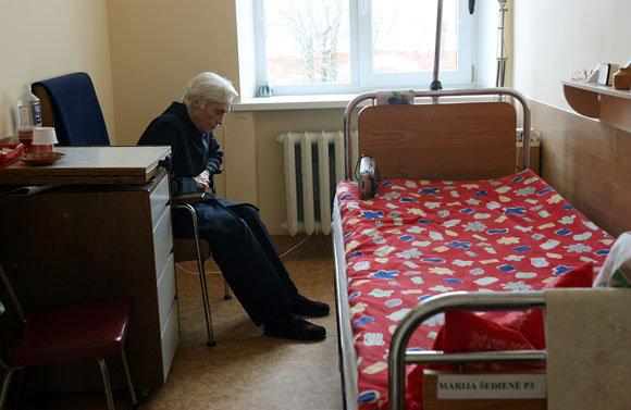 Eriko Ovčarenko / 15min nuotr./Kauno slaugos ligoninėje