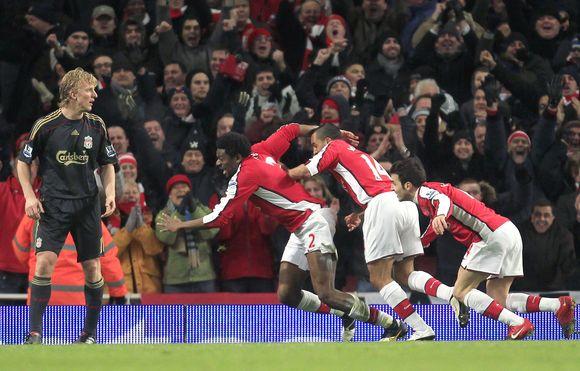 """""""Arsenal"""" pergalė"""