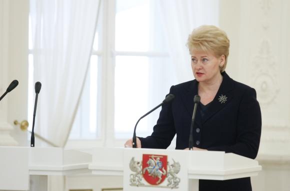 Iškilmingoje 2009 metų Lietuvos nacionalinių kultūros ir meno premijų teikimo ceremonijoje