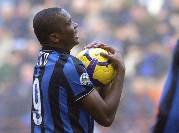 """""""Inter"""" klube S.Eto'o šį sezoną yra įmušęs 10 įvarčių"""