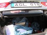 FNTT nuotr./Dokumentai automobilio bagažinėje