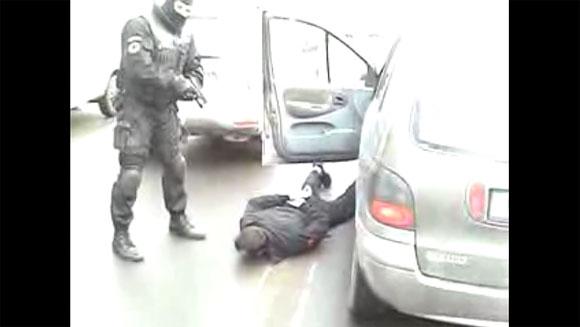 Įtariamųjų sulaikymas