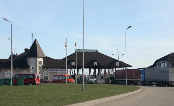 Lietuvos ir Latvijos pasienis