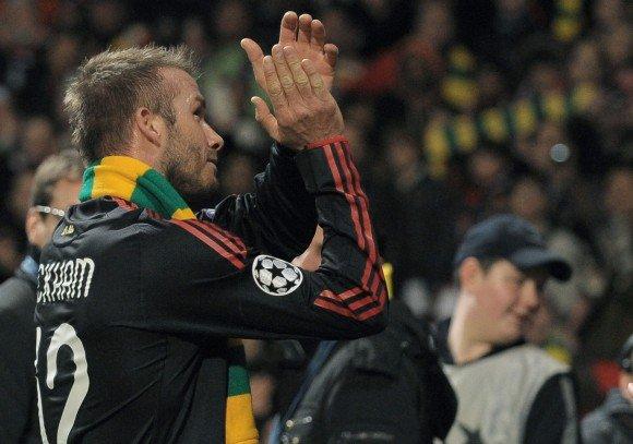 Reuters/Scanpix nuotr./D.Beckhamas Manchester United sirgalių buvo sutiktas skirtingai