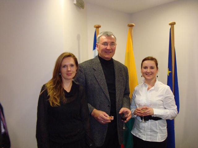 Jonas Kazlauskas šventė Kovo 11-ąją su kitais Graikijoje gyvenančiais lietuviais
