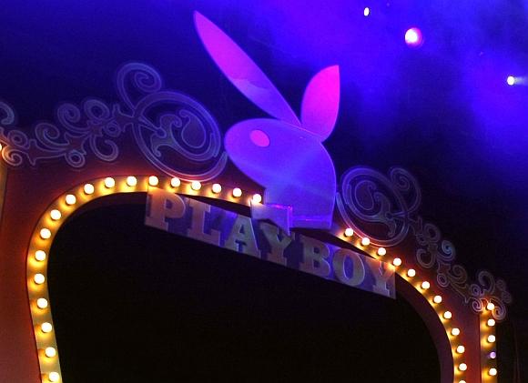 """""""Playboy"""" simbolis"""