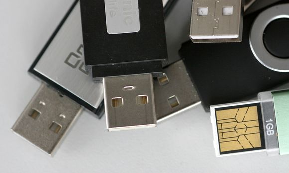 USB raktas
