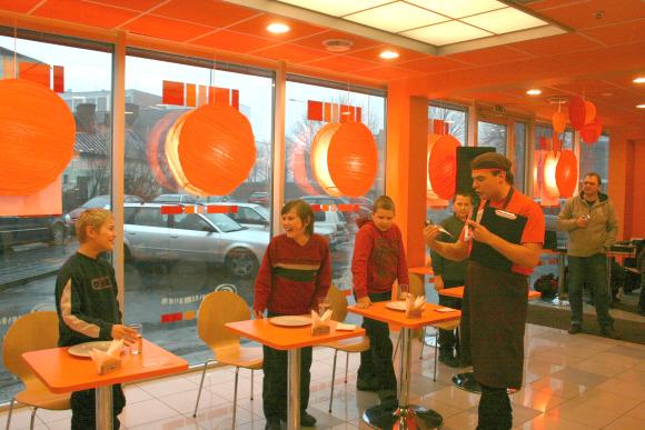Savaitgalį Klaipėdoje vyko blynų valgymo čempionatas.